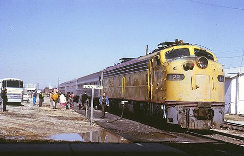 Amtrak Inter American At San Antonio West Commerce Street