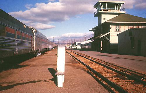 San Francisco Zephyr At Sparks Station April 1976