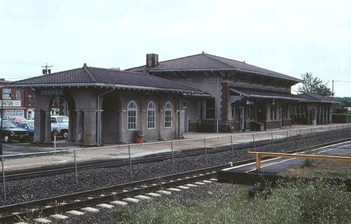 Newport Rhode Island Amtrak Station