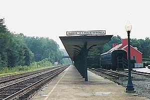 Amtrak - White Sulphur Springs...