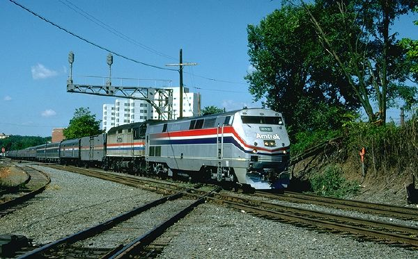 Farewell to Amtrak's