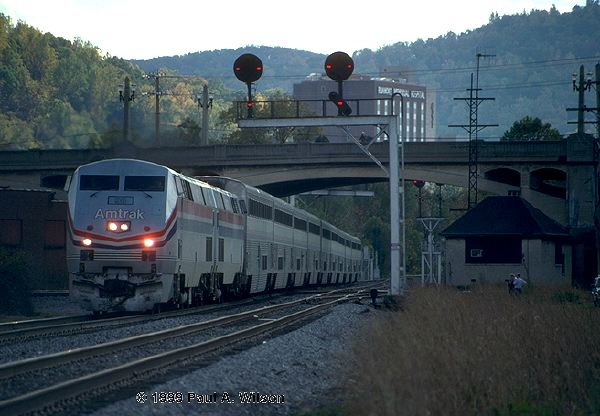 Amtrak Photo Archive - the P-40 Genesis locos #821-830