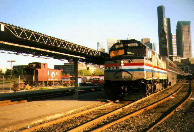 The last Amtrak Pioneer on May 10, 1997, by WashARP