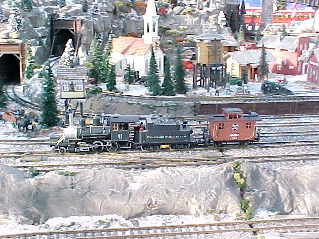 2 6 0 Steam Locomotive And Caboose
