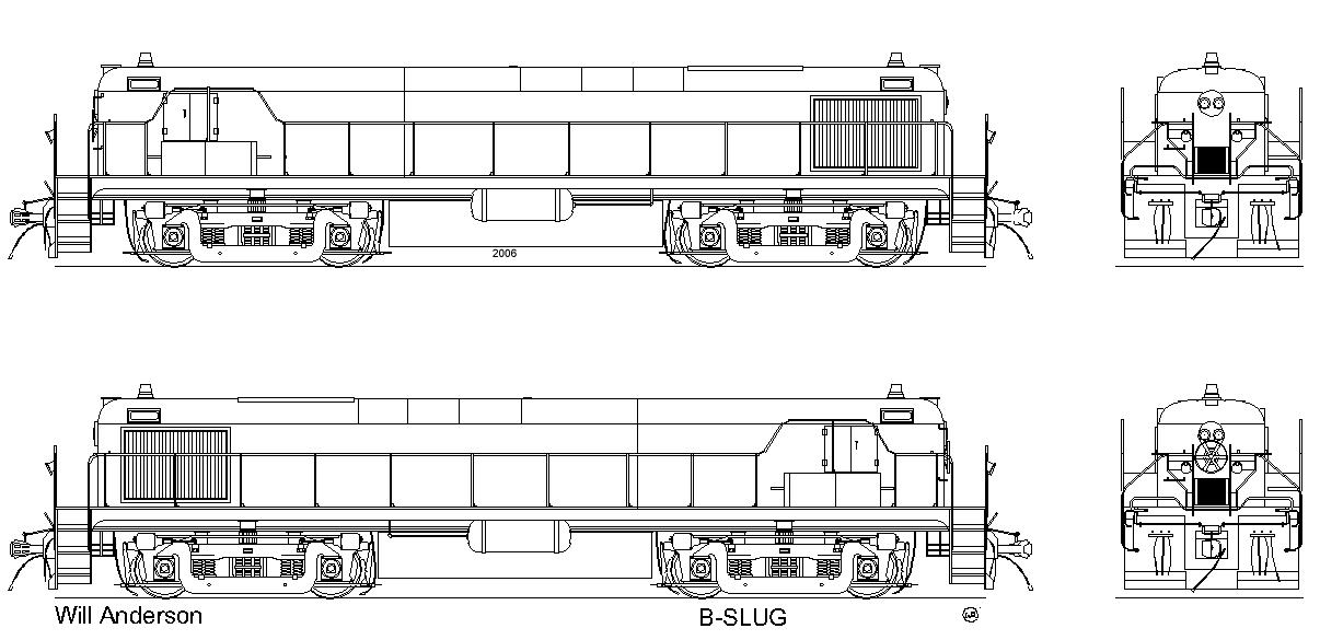 Line Art Train : Slugb